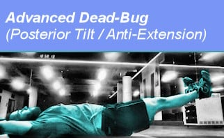 advanced dead-bug